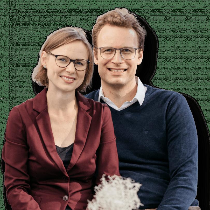 Hannah Jesussek und Mathias Jesussek