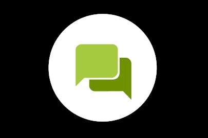 Symbol für Chat