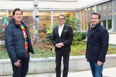Manuel Leal-Garcia, Christoph Ludwig und Matthias Ruhri