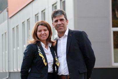 Bozidar und Vesna Horvat