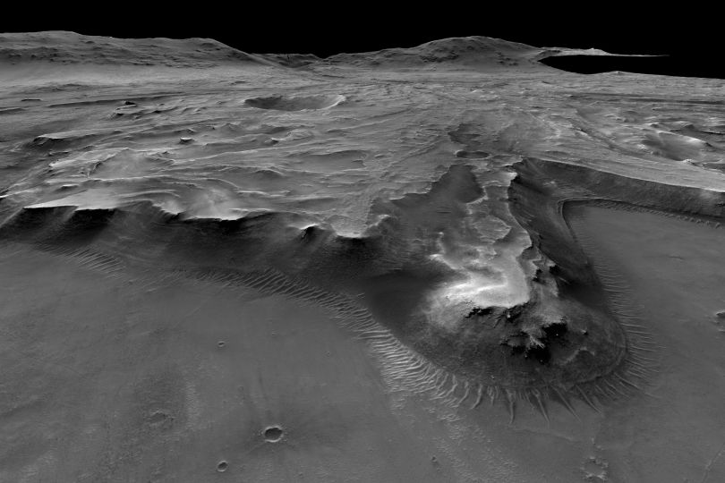 Landing Site_Jezero Krater Mars
