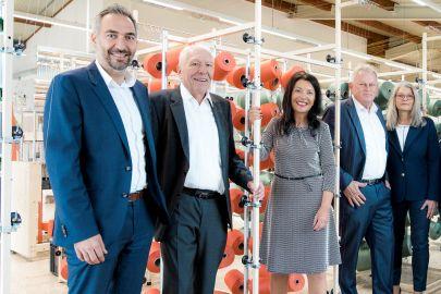 Das Management-Team des Verpackungszentrums.