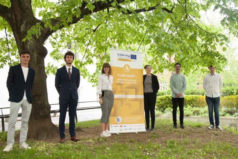 Das Team von Darwin Biomedcial arbeitet gemeinsam mit GGZ und nowa in einem Co-Creation-Prozess an ihrem EU-finanziertem Projekt I-CARE-SMART