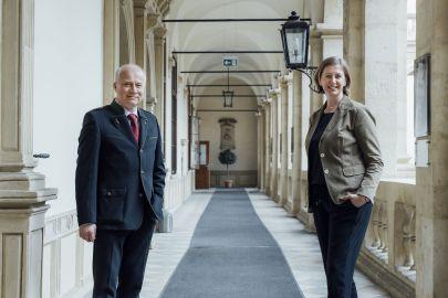 Hans Seitinger und Barbara Eibinger-Miedl