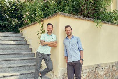 Bernd Niederwieser und Mario Stranz